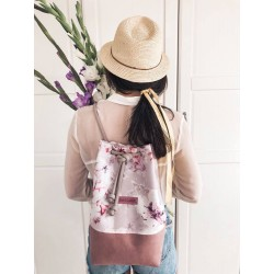 BACKPACK-HANDBAG 2in1 CANDY LILAC