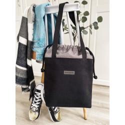 EKO LEATHER CANDY LILAC Handbag + TROLLEY HOLDERS