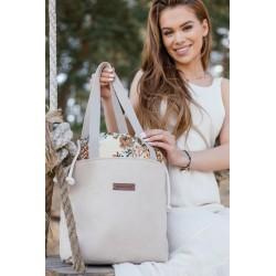 EKO LEATHER CANDY LILAC Handbag