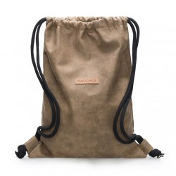 Premium bag brown eco leather