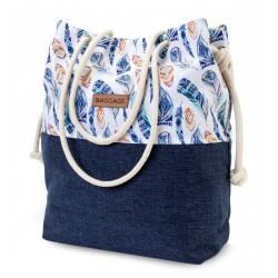 Aztecka Feather Bag Bag