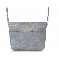 BAG FOR CART LARGE ORGANIZER TEDDY BEARS ON A GRAY BACKGROUND